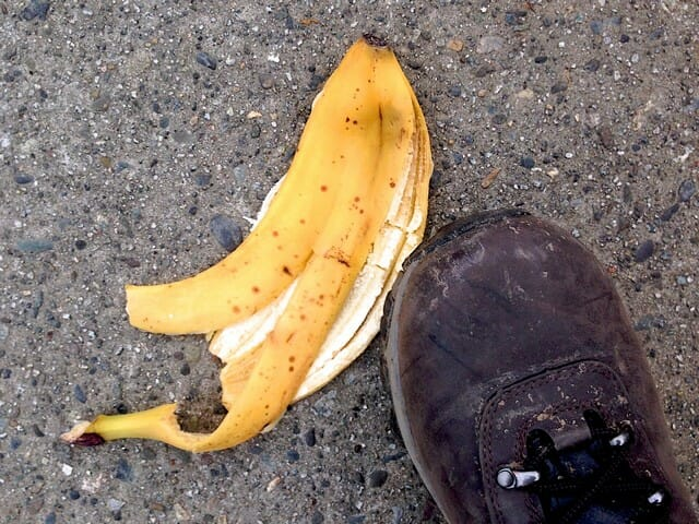 Don't throw banana peels on the ground! Rather use them for banana peel compost.