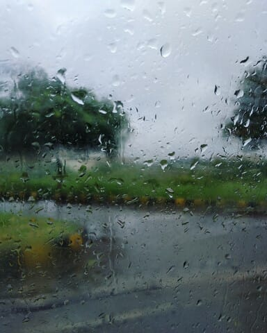 Rain does help the environment as well as your grass.