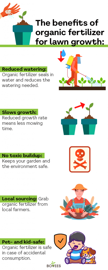 make your lawn safe to use with natural ingredients that matter to the soil