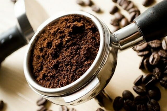 used coffee grounds can help with your ant problem